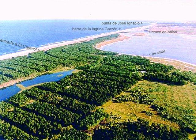 Vista aerea desde el Este